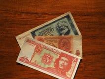 argent de vintage des pays communistes Photo libre de droits