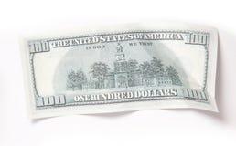 Argent, 100 dollars Images libres de droits