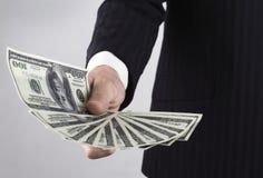 Argent du besoin : dollar Images stock