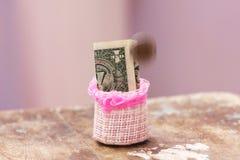 Argent et donation d'économie photos stock