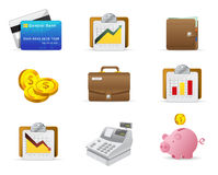 Argent et graphisme de finances Image libre de droits
