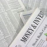 Argent et investissement Image libre de droits