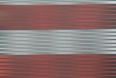 Argent et rouge dans la tache floue de mouvement photographie stock libre de droits