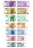 Argent : Euro Photos libres de droits