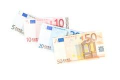 argent européen Photographie stock libre de droits