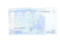 argent européen Photos stock