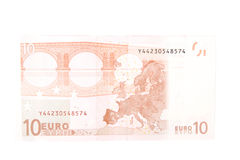 argent européen Images stock