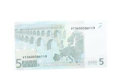 argent européen Images libres de droits