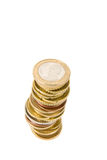 argent européen Photo libre de droits