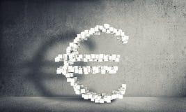 Argent faisant le concept, rendu 3d Photos libres de droits