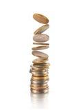Argent, financier, concept de croissance d'affaires, illustration de vecteur