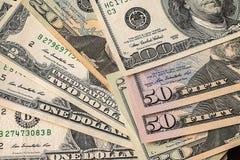 argent financier Etats-Unis des dollars de concept de fond Photos libres de droits