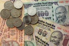Argent indien photo stock