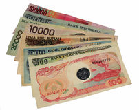 Argent indonésien Image stock