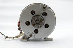 Argent industriel électrique de moteur 220 v Images stock