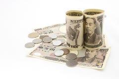 Argent japonais Image stock