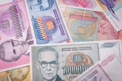 Argent liquide d'inflation Image libre de droits