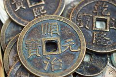 argent liquide de cuivre Photo libre de droits