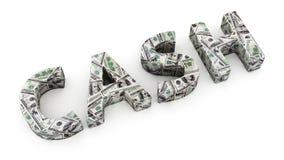 Argent liquide du dollar Images stock