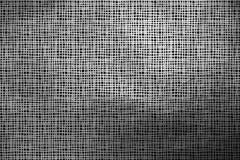 Argent moderne dynamique et modèle de grille abstrait noir de texture Photos stock