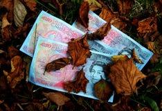 Argent mort, argent perdu Photo libre de droits