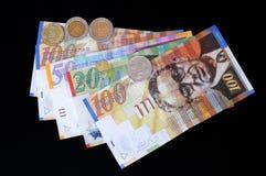Argent-shekels Photo libre de droits