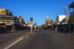 Argent Street, Broken Hill, Australia. Royalty Free Stock Photo