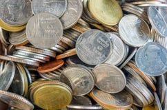 Argent thaïlandais de pièce de monnaie Images stock