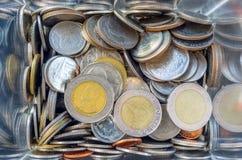 Argent thaïlandais de pièce de monnaie Photo stock
