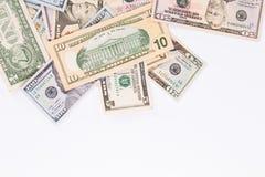 Argent - USD Image libre de droits