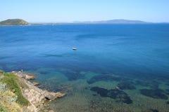 argentario włoski Italy morze Tuscan Zdjęcie Royalty Free