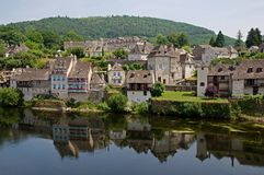Argentat, France Royalty Free Stock Photography