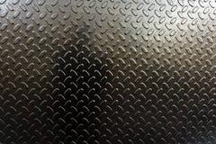 Argentez le fond martelé en métal, la texture métallique de résumé, feuille de surface métallique peinte avec la peinture de mart image libre de droits