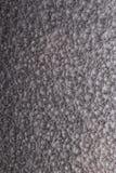 Argentez le fond martelé en métal, la texture métallique de résumé, feuille de surface métallique peinte avec la peinture de mart Photo stock