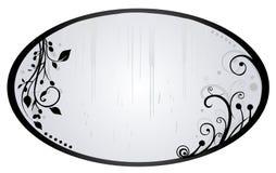 Argentez le miroir Photos stock