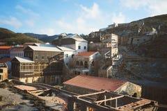 Argentiera,撒丁岛,意大利 免版税库存图片