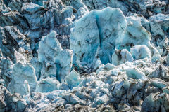 Argentiere Glacier in Chamonix Alps, Mont Blanc Massif, France. Royalty Free Stock Photography