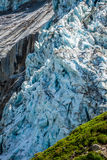 Argentiere Glacier in Chamonix Alps, Mont Blanc Massif, France. Stock Photos
