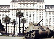 Argentijns defensieministerie - Buenos aires Royalty-vrije Stock Afbeelding