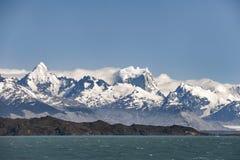 Argentijns Meer in Patagonië, Argentinië royalty-vrije stock foto's