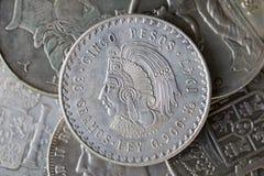 Argentijns muntstuk Stock Foto