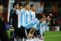 Argentijnse spelers royalty-vrije stock afbeelding