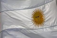 Argentijnse vlag royalty-vrije stock fotografie