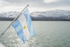 Argentina's flag Stock Photos