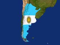 argentina royaltyfri illustrationer