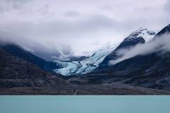 argentina argentino lago Los Glaciares park narodowy, lodowiec w górze zdjęcia stock