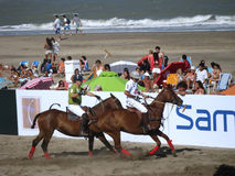 Argentina beach polo 2.1 Stock Photo