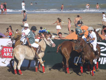Argentina beach polo 22 Royalty Free Stock Photography
