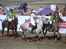 Argentina beach polo 6.1 Stock Photography