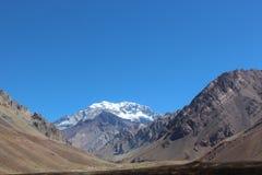 Argentina berg royaltyfri fotografi